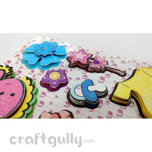 3D Paper Stickers #18