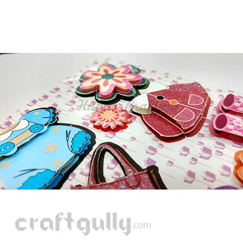 3D Paper Stickers #20