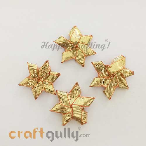 Gota Elements 37mm - Star - Golden - Pack of 10