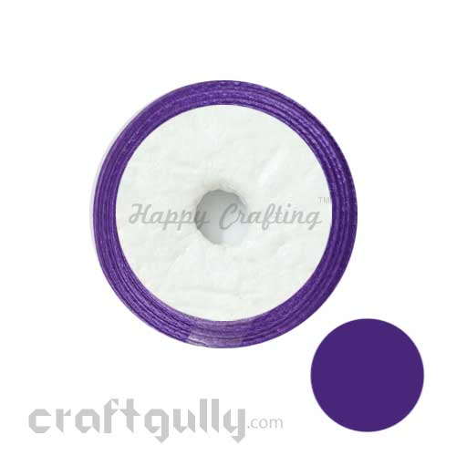 Satin Ribbons 1 inch - Lavender - 8 meters