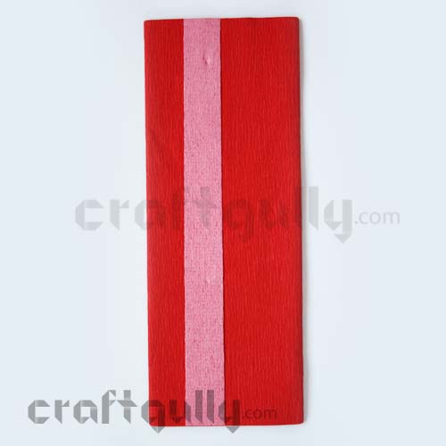 Duplex Paper 21 inches - Red & Pink - Pack of 1