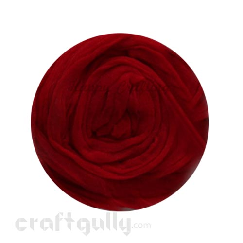 Stocking Cloth - Dark Red