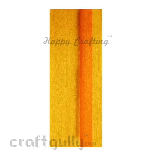 Duplex Paper 21 inches - Golden Yellow & Sunflower Yellow - Pack of 1