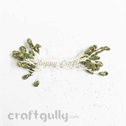Pollen - Glitter - Olive Green