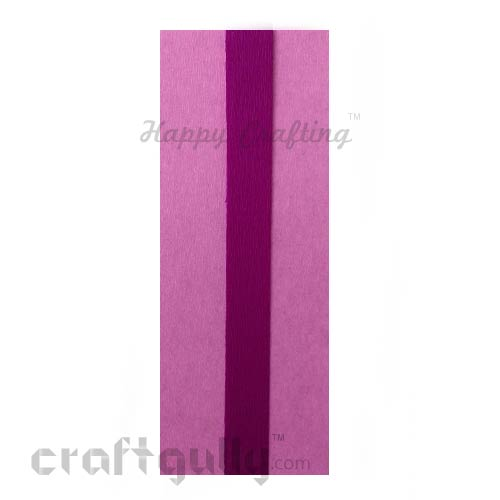 Duplex Paper 21 inches - Baby Pink & Purple - Pack of 1