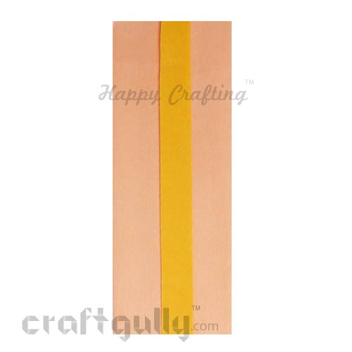 Duplex Paper - Peach & Sunflower Yellow