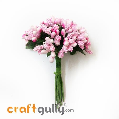 Pollen - Stamen Cluster - Baby Pink - Pack of 10