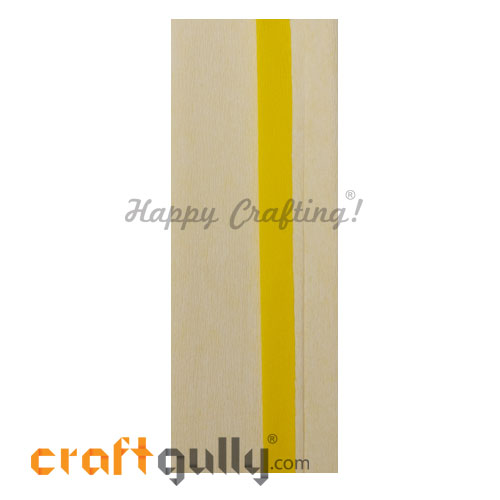 Duplex Paper 38 inches - Bright Yellow & Off White - Pack of 1