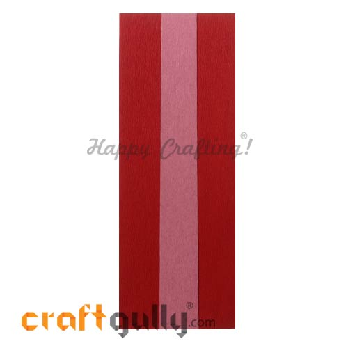 Duplex Paper 21 inches - Red & Baby Pink - Pack of 1