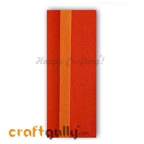 Duplex Paper 22 inches - Deep Orange & Orange - Pack of 1