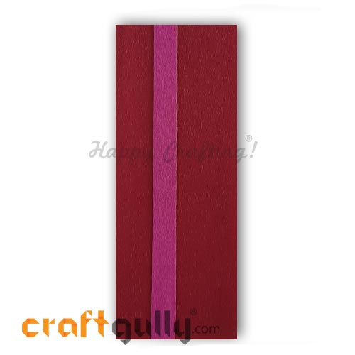 Duplex Paper 20 inches - Dark Red & Pink - Pack of 1