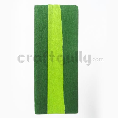 Duplex Paper - Dark Green & Bright Green