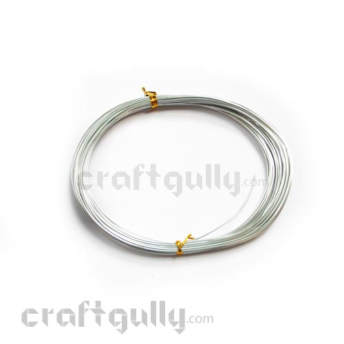 Craft Wire - Aluminium 1mm - Silver