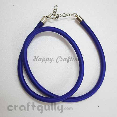 Necklace Cords - Silk Thread - Royal Blue - 18 inches