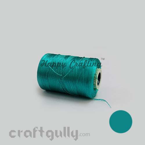 Faux Silk Thread - Aqua Family - Shade 75