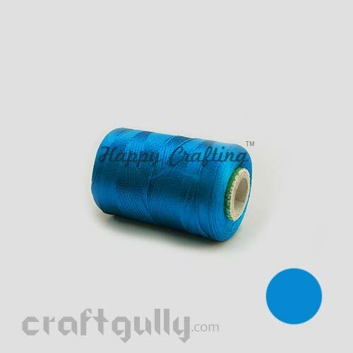 Faux Silk Thread - Blue Family - Shade 131D