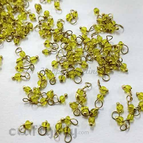 Loreals 2mm - Glass - Light Green - 5gms