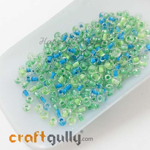 Seed Beads 3mm Glass - Round - Assorted #4 - 25gms