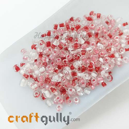 Seed Beads 3mm Glass - Round - Assorted #5 - 25gms