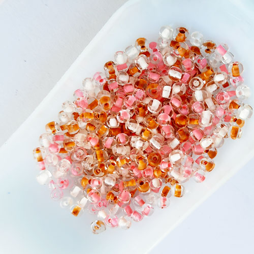 Seed Beads 3mm Glass - Round - Assorted #7 - 25gms