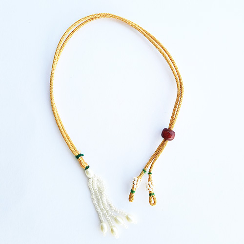 Necklace Cords - Back Rope #4 - Golden - Pack of 2