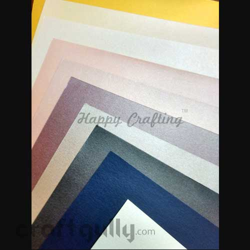 CardStock A4 - Metallic Assorted - Pack of 10