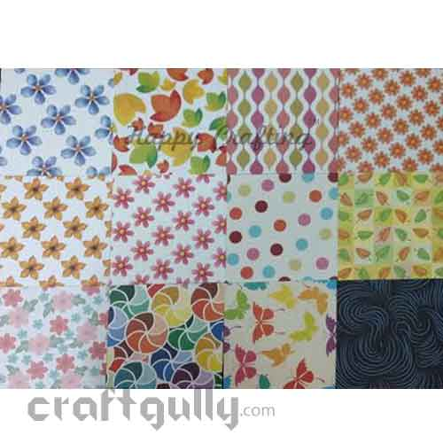 Papers 142 mm Origami - Assorted Prints #2 - Pack of 24
