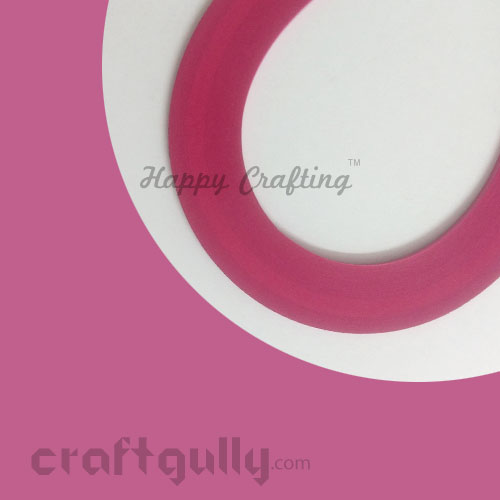 Quilling Paper Strips 3mm - Pink #2 - 17Inch - 100 Strips