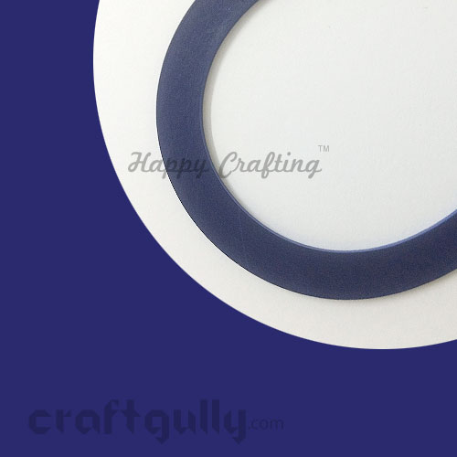 Quilling Paper Strips 3mm - Royal Blue - 17Inch - 100 Strips