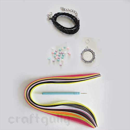 CraftGully Quilling Jewellery Kit - Necklace