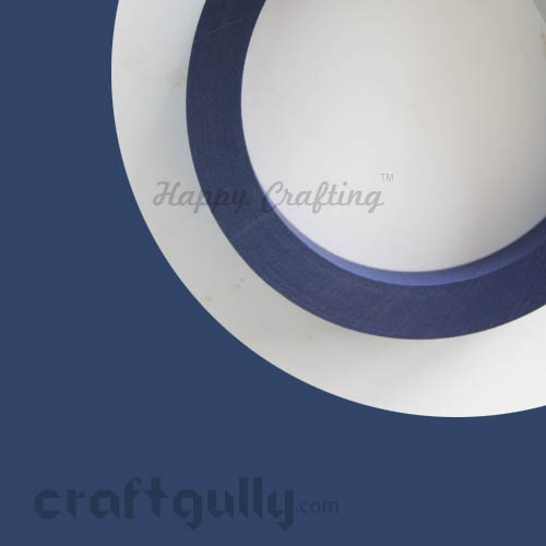 Quilling Paper Strips 5mm - Midnight Blue - 17 Inch - 100 Strips