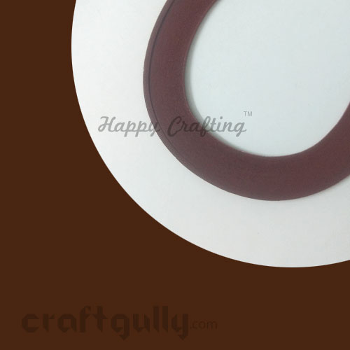 Quilling Paper Strips 3mm - Rust #2 - 17Inch - 100 Strips
