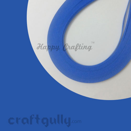 Quilling Paper Strips 3mm - Sea Blue#2 - 17Inch - 100 Strips