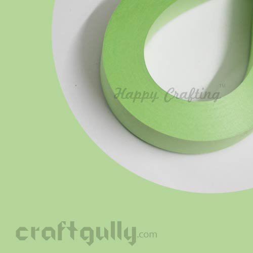 Quilling Paper Strips 3mm - Fresh Mint - 17Inch - 100 Strips