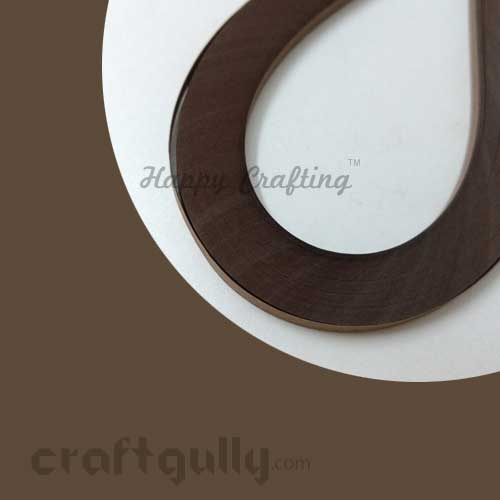 Quilling Paper Strips 5mm - Walnut Brown - 16Inch - 100 Strips
