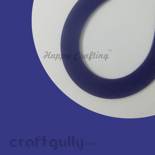 Quilling Paper Strips 3mm - Blue Sapphire - 17Inch - 100 Strips