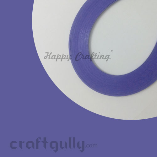 Quilling Paper Strips 3mm - Purple Orchid - 17Inch - 100 Strips