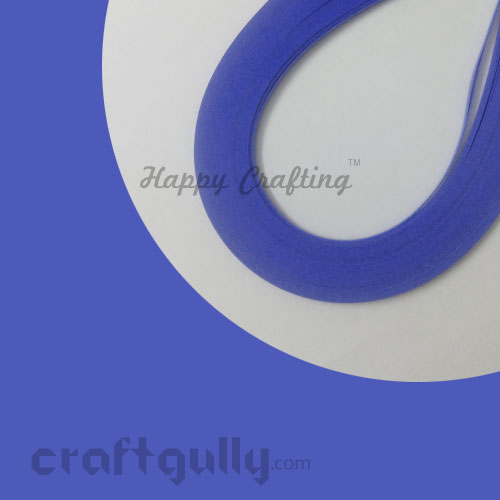 Quilling Paper Strips 3mm - Periwinkle Blue - 17Inch - 100 Strips