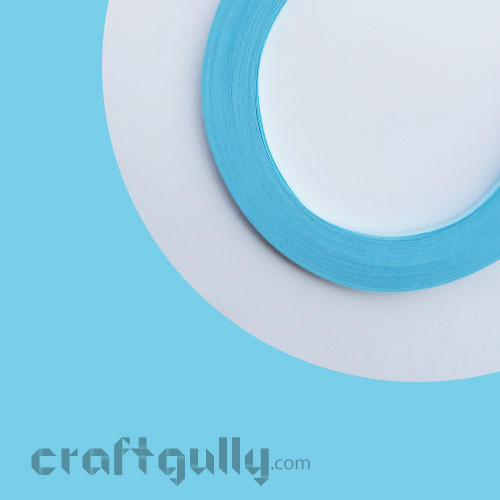 Quilling Strips 2mm - Light Blue - 11inch - 100 Strips