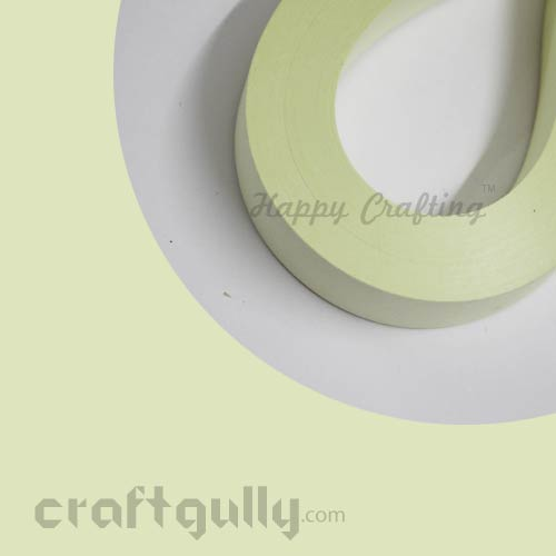 Quilling Paper Strips 2mm - Yellow Pastel - 11inch - 100 Strips