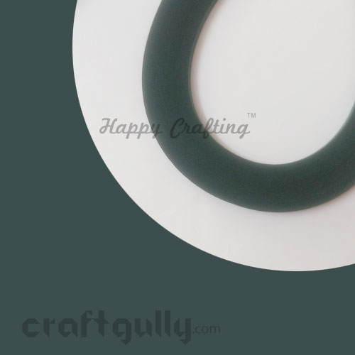 Quilling Strips 2mm - Dark Green #2 - 17 inches - 100 Strips