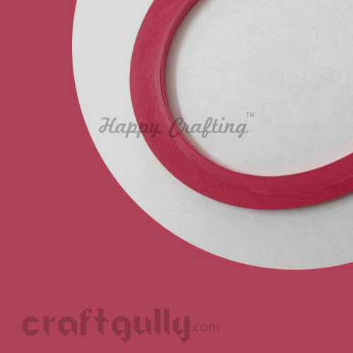 Quilling Paper Strips 3mm - Cherry Red - 17 inches - 100 Strips