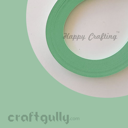 Quilling Paper Strips 2mm - Sea Foam Green - 11inch - 100 Strips