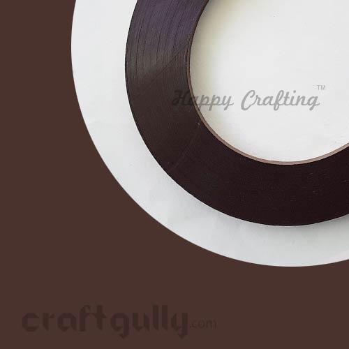 Quilling Strips 3mm - Brown #2 - 17inches - 100 Strips