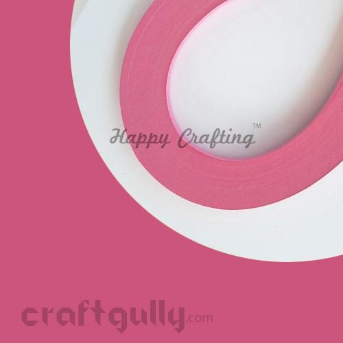 Quilling Strips 2mm - Dark Pink - 17Inch - 100 Strips