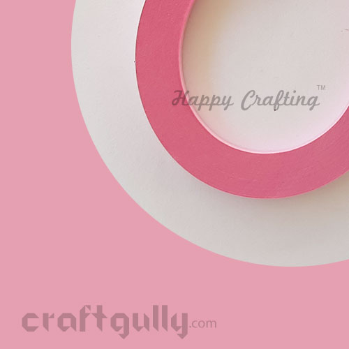 Quilling Strips 7mm - Rose Pink - 11inch - 100 Strips