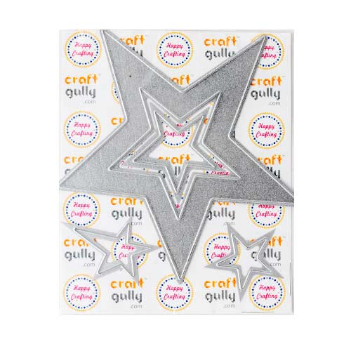 Dies - Metal - Star Set of 4