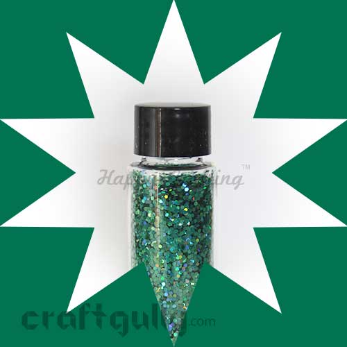 Glitter Large - Hologram Green - 30ml