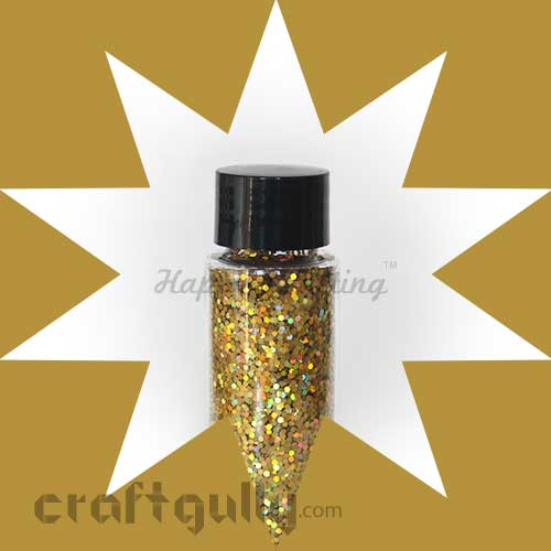 Glitter Large - Hologram Gold - 30ml