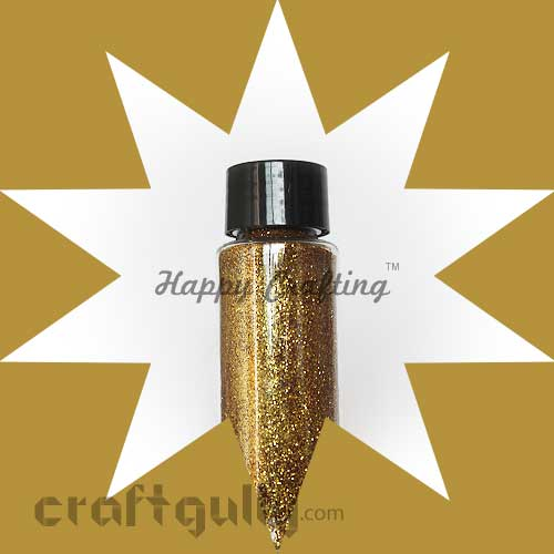 Glitter Super Fine - Dark Gold - 30ml